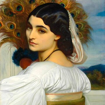 """Frederic Leighton """"Pavonia"""" by ALD1"""