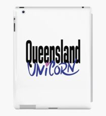 Queensland Unicorn Australia Raised Me iPad Case/Skin