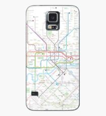 London tube map Case/Skin for Samsung Galaxy