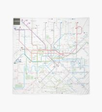 London tube map Scarf