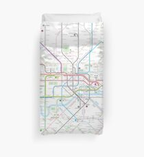 London tube map Duvet Cover