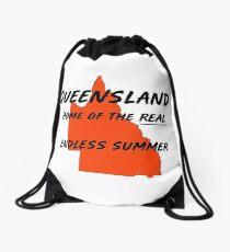 Queensland Australia. Where it's summer 364 days a year! Drawstring Bag