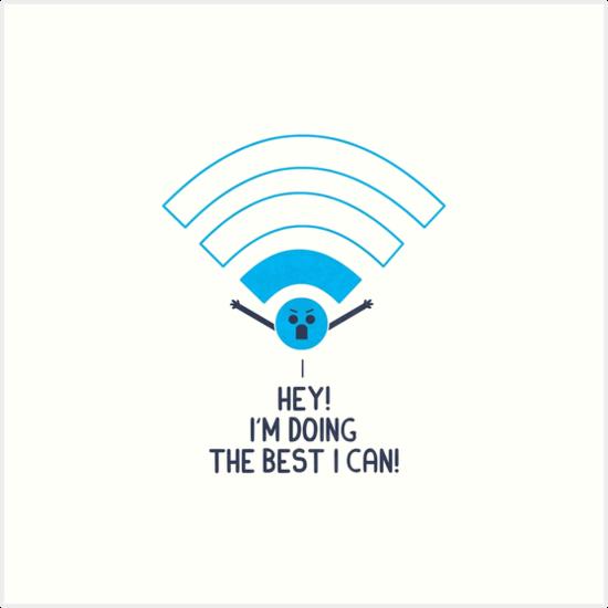 «Wifi enojado» de Teo Zirinis