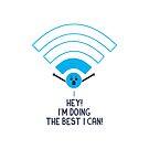 Angry Wifi by Teo Zirinis