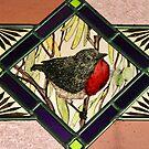 Mistletoe Bird by Jeffrey Hamilton