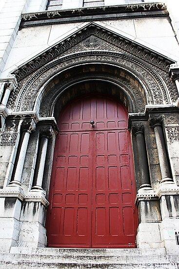 Red Door by Elena Skvortsova