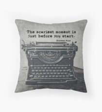 Writing According To King Throw Pillow