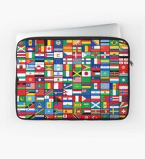 The World's Flags Laptop Sleeve