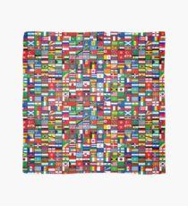 Die Flaggen der Welt Tuch