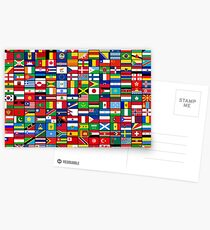 The World's Flags Postcards