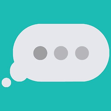 iMessage typing indicator x 'left on read' by fandemonium