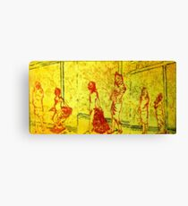 Childs Play after Christo Canvas Print