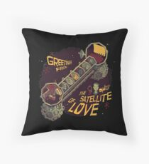 Mystery Science Theater 3000 (MST3K) Throw Pillow