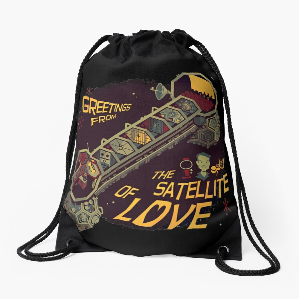 Mystery Science Theater 3000 (MST3K) Drawstring Bag