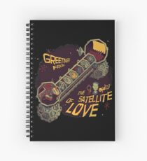 Mystery Science Theater 3000 (MST3K) Spiral Notebook