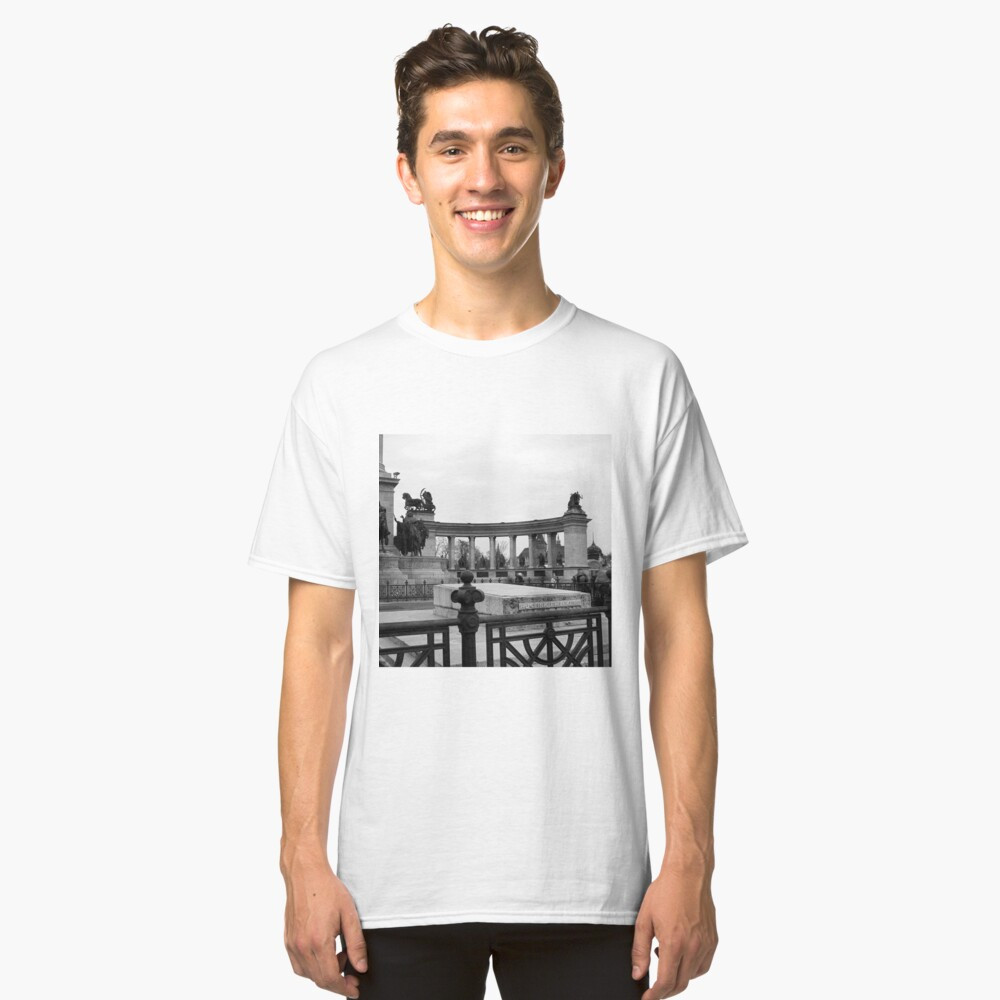 Heroes' Square, Budapest Classic T-Shirt
