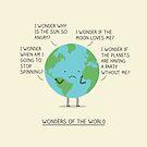 Wonders of the world by Milkyprint