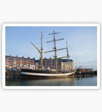 Tall Ship Pelican Of London Sticker