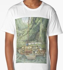 Cutaway of Dustys Boat Long T-Shirt