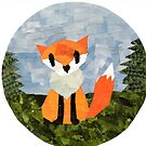 A Fox in the Woods by Jennifer Frederick