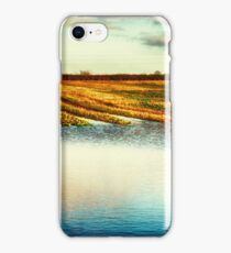Flooded Field HDR iPhone Case/Skin