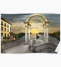 Gondolier`s way Poster