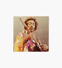 Jimi Hendrix & Guitar Art Board