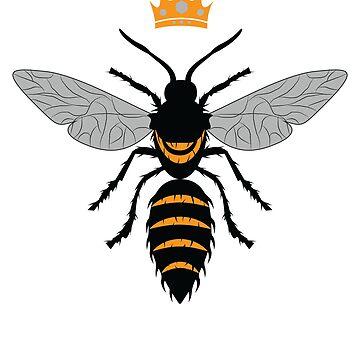 Bee Queen Women Shirt by SL-Creative
