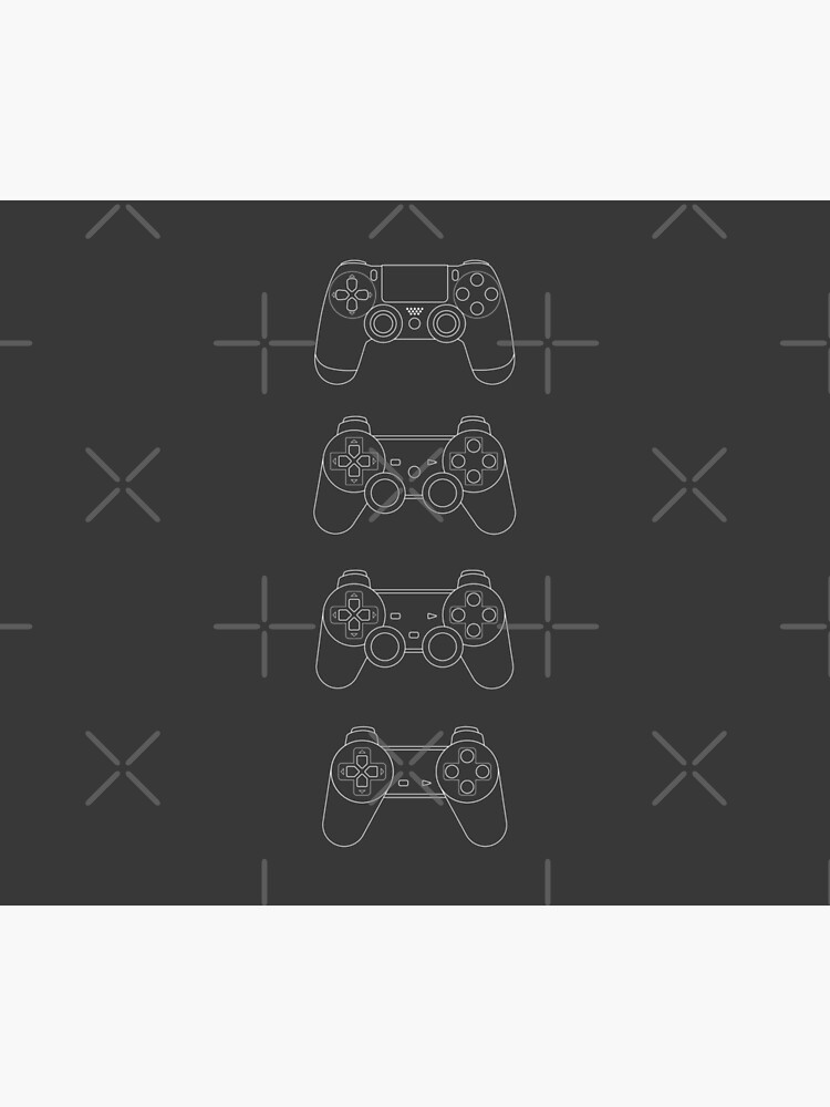 Evolution of Playstation Controllers by MartineMeeka