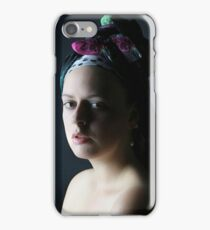 The girl with... iPhone Case/Skin