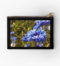 Blue petals Zipper Pouch