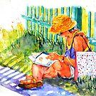 Avid reader #2 by bettymmwong