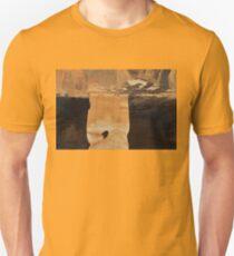 Rock Carving At Little Petra Unisex T-Shirt