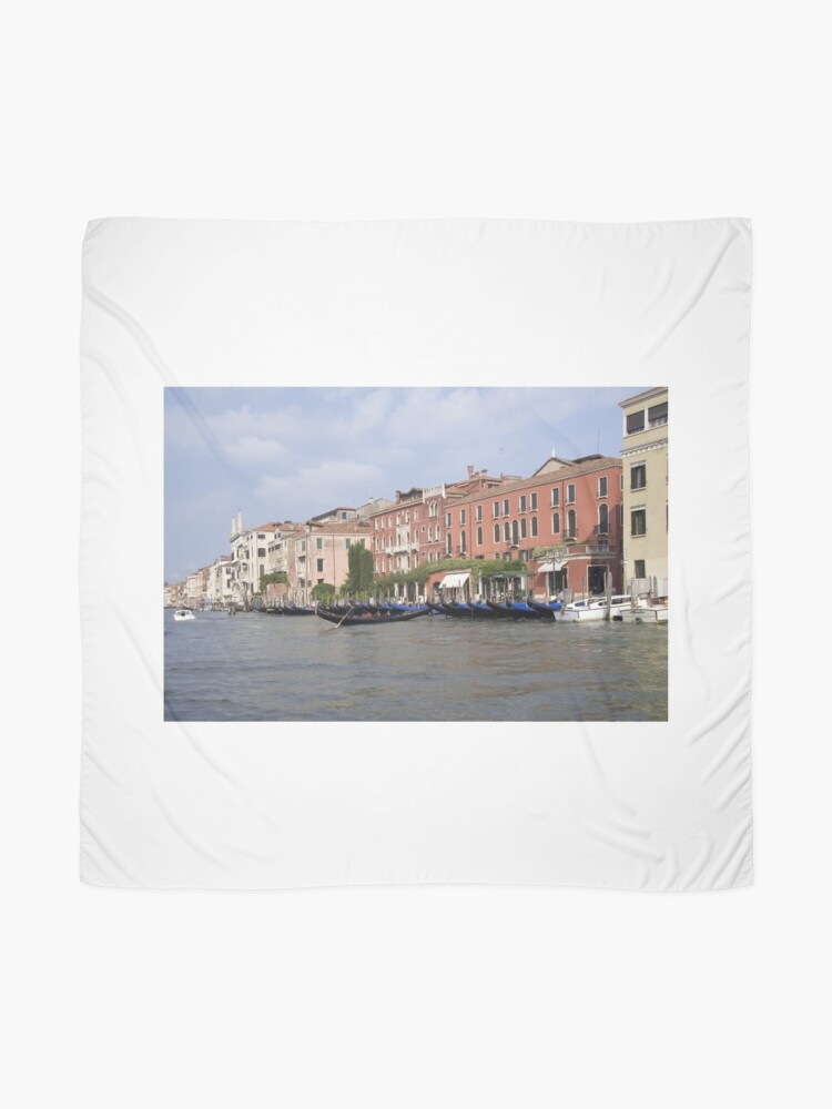 Alternate view of The Grand Canal Scarf