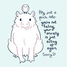 """""""You're Not Failing"""" Capybara by thelatestkate"""
