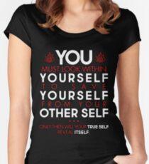 Zukos Iroh-Identitätswechsel Tailliertes Rundhals-Shirt