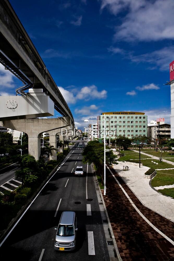 Okinawa Japan City View by Dale Frazier