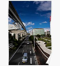 Okinawa Japan City View Poster