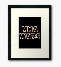 Mma Wars Framed Print