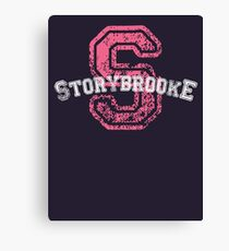 Storybrooke - Pink Canvas Print