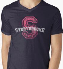 Storybrooke - Pink Men's V-Neck T-Shirt