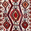 Konya Antique Turkish Kilim  by Vicky Brago-Mitchell