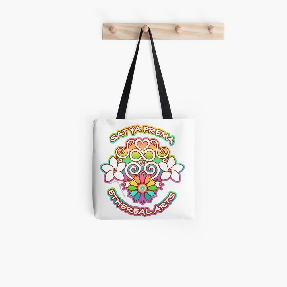 Satya Prema Ethereal Arts Emblem Tote Bag