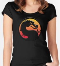 Mortal Kombat Women's Fitted Scoop T-Shirt