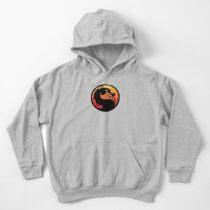 Sudadera con capucha para niños Mortal Kombat