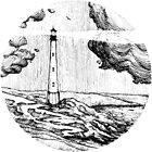 Lighthouse at the seaside by BananaCrew