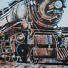 Engine #25 by emilypageart