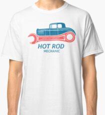 Hot Rod Mechanic Classic T-Shirt