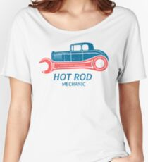 Hot Rod Mechanic Baggyfit T-Shirt