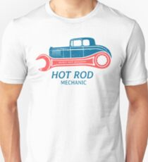 Hot Rod Mechanic Slim Fit T-Shirt